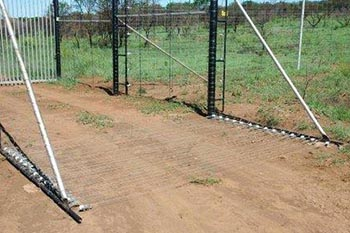 Fencing for game reserves